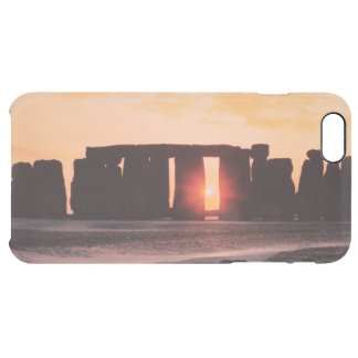 Stonehenge, Winter Solstice Clear iPhone 6 Plus Case