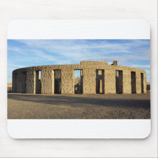 Stonehenge With Moon Mouse Pad