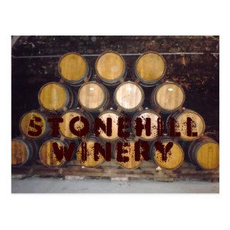 Stonehill Winery Postcard