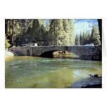 Stoneman Bridge, Yosemite National Park Greeting Card