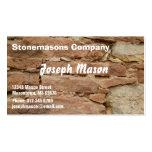 stonemason business card