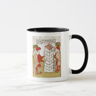 Stonemasons, from 'Traite d'Arpentage' Mug