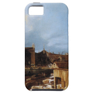 Stonemason's Yard by Canaletto iPhone SE/5/5s Case