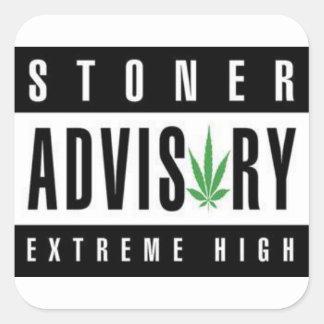 stoner advisory sticker