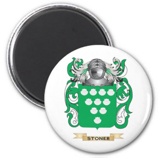 Stoner Coat of Arms (Family Crest) 2 Inch Round Magnet