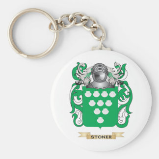 Stoner Coat of Arms Family Crest Keychains