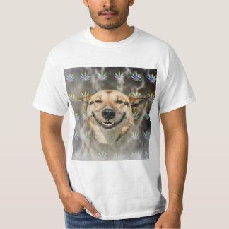 Stoner Dog Advice Animal Meme T-Shirt