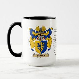 Stoner Family Coat of Arms Mug