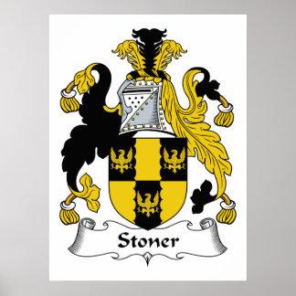Stoner Family Crest Poster