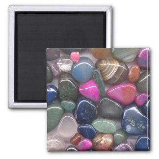 Stones 2 Inch Square Magnet