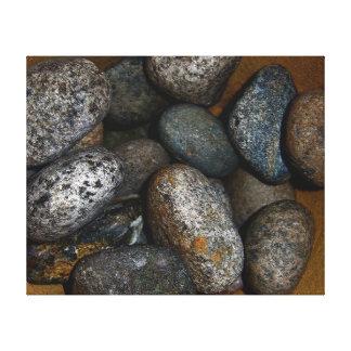 Stones 3 canvas print
