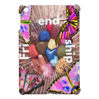 Stones and butterflies know about friendship iPad mini cases