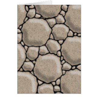 Stones And Pebbles Card