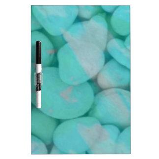 stones aqua Dry-Erase whiteboard