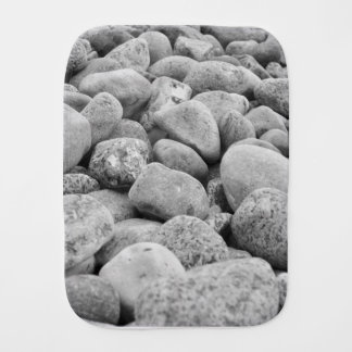 Stones at the Baltic Sea/island Burp Cloth