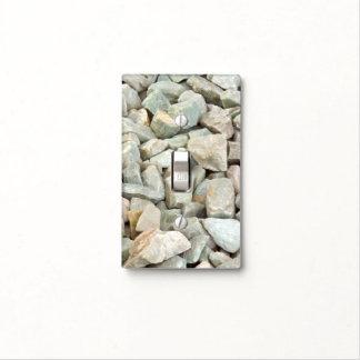 Stones at the Brooklyn Botanic Garden Light Switch Plates
