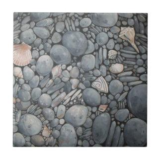 Stones Beach Pebbles Rocks Tile
