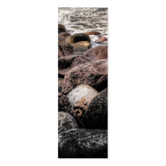 Stones Bookmark Double-Sided Mini Business Cards (Pack Of 20)