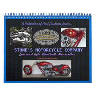 Stones Custom Motorcycle Calendar 2012
