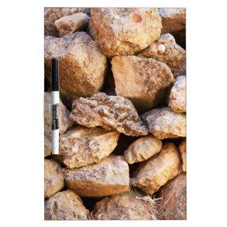 Stones Dry-Erase Board