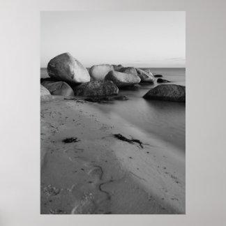 Stones en the sea impresiones