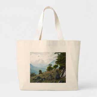 Stones from the ground large tote bag