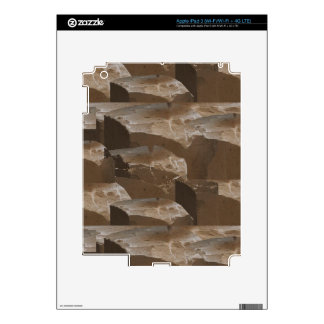 Stones Holy Church Wall Pattern Spiritual Decor 99 Skin For iPad 3
