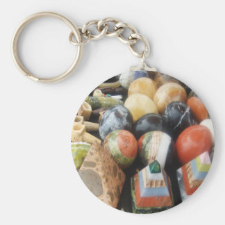 Stones in Color Key Chain