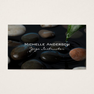 Stones in Pond Business Card