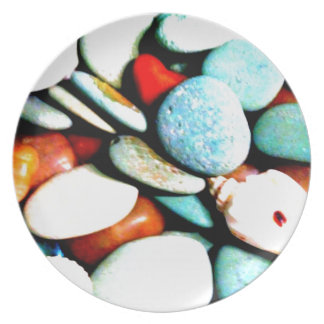 Stones in the Sands Melamine Plate