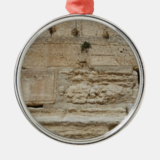 Stones Kotel Western Wall Jerusalem Metal Ornament