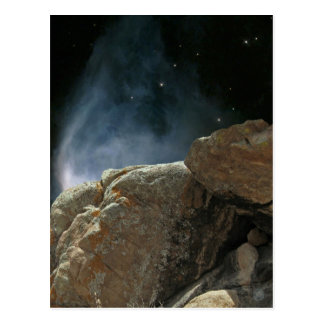 """Stones of Easter #8:  """"Tomb"""" postcard"""