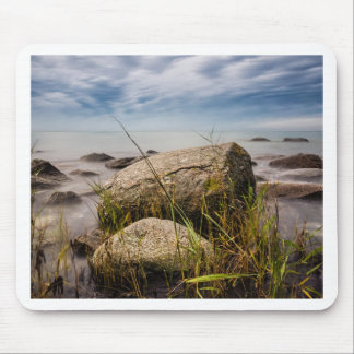Stones on shore of the Baltic Sea Mouse Pad