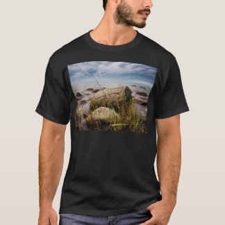 Stones on shore of the Baltic Sea T-Shirt