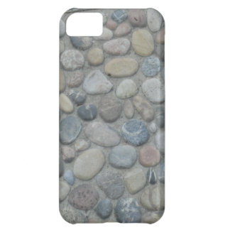 Stones Pebbles Rocks Pattern Jamaica Coast Photo Cover For iPhone 5C