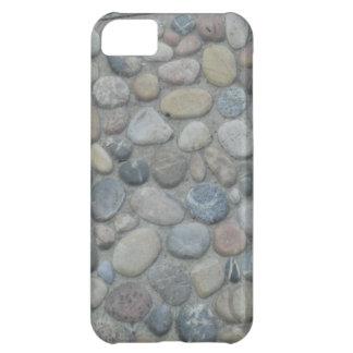 Stones Pebbles Rocks Pattern Jamaica Coast Photo Cover For iPhone 5C