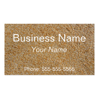 Stones plaster business card templates