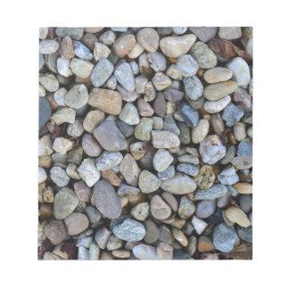 stones rocks texture notepad