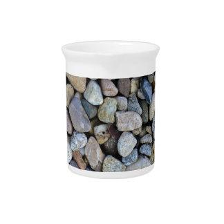 stones rocks texture pitcher