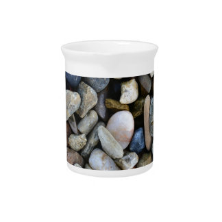 stones texture pitcher