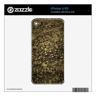 Stones under water | skin for iPhone 4S