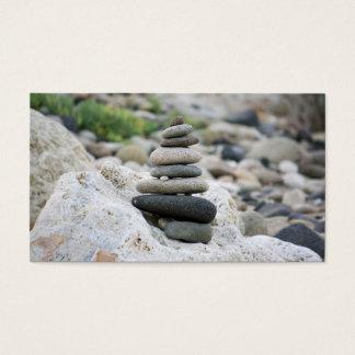 Stones zen in the beach of Almeria Business Card