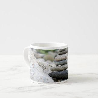 Stones zen in the beach of Almeria Espresso Cup
