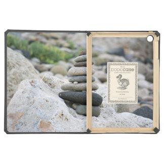 Stones zen in the beach of Almeria iPad Air Covers