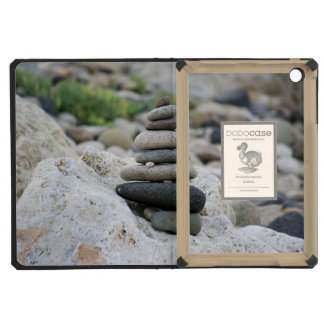 Stones zen in the beach of Almeria iPad Mini Retina Cover