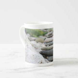 Stones zen in the beach of Almeria Tea Cup