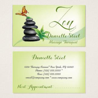 Zen stones business cards templates zazzle stones zen therapist business card stopboris Gallery