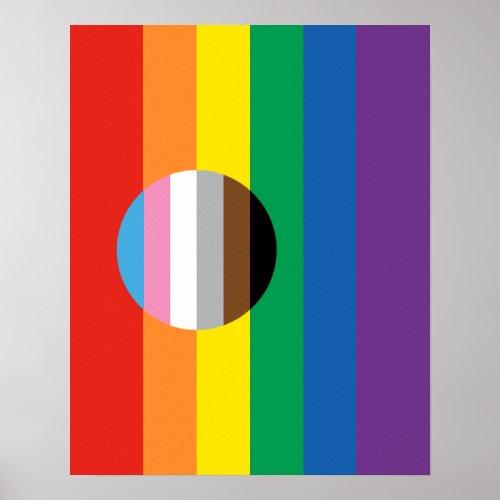 STONEWALL50 𝘐𝘕𝘊𝘓𝘜𝘚𝘐𝘖𝘕 FLAG POSTER