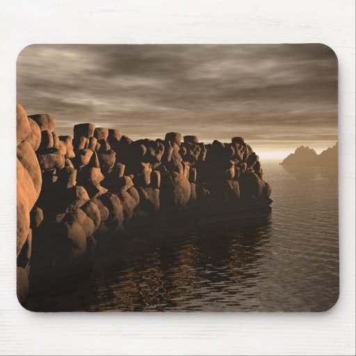 Stonewall At Sunset Mouse Pad