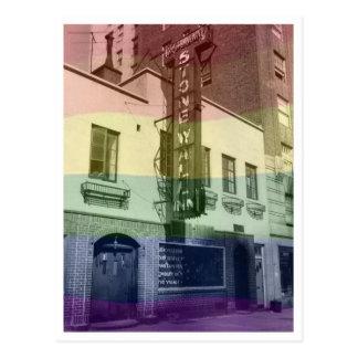 Stonewall Inn Postcard (Rainbow)